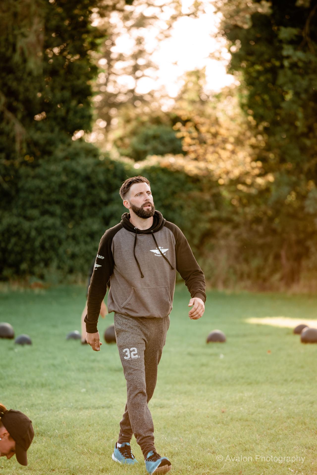 Instructor Walking