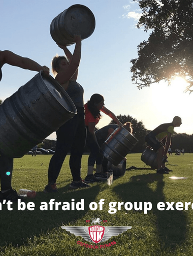 Don't be afraid oDon't be afraid of group exercisef group exercise