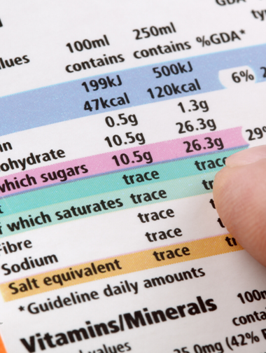 Nutrition Labels, Confused?!